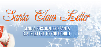 Send a Personalized Santa Letter To Your Child