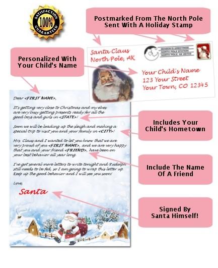 santa letters personalized santa letters